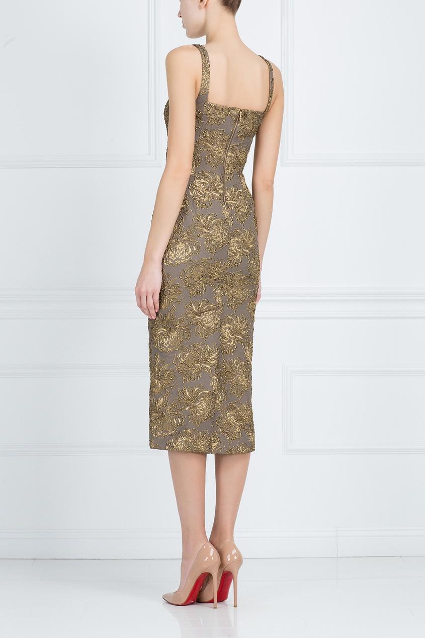 Платье с вышивкой от AIZEL
