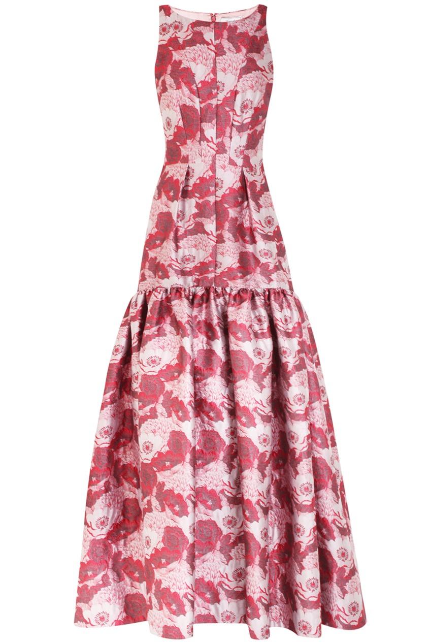 Платье из искусственного шелка
