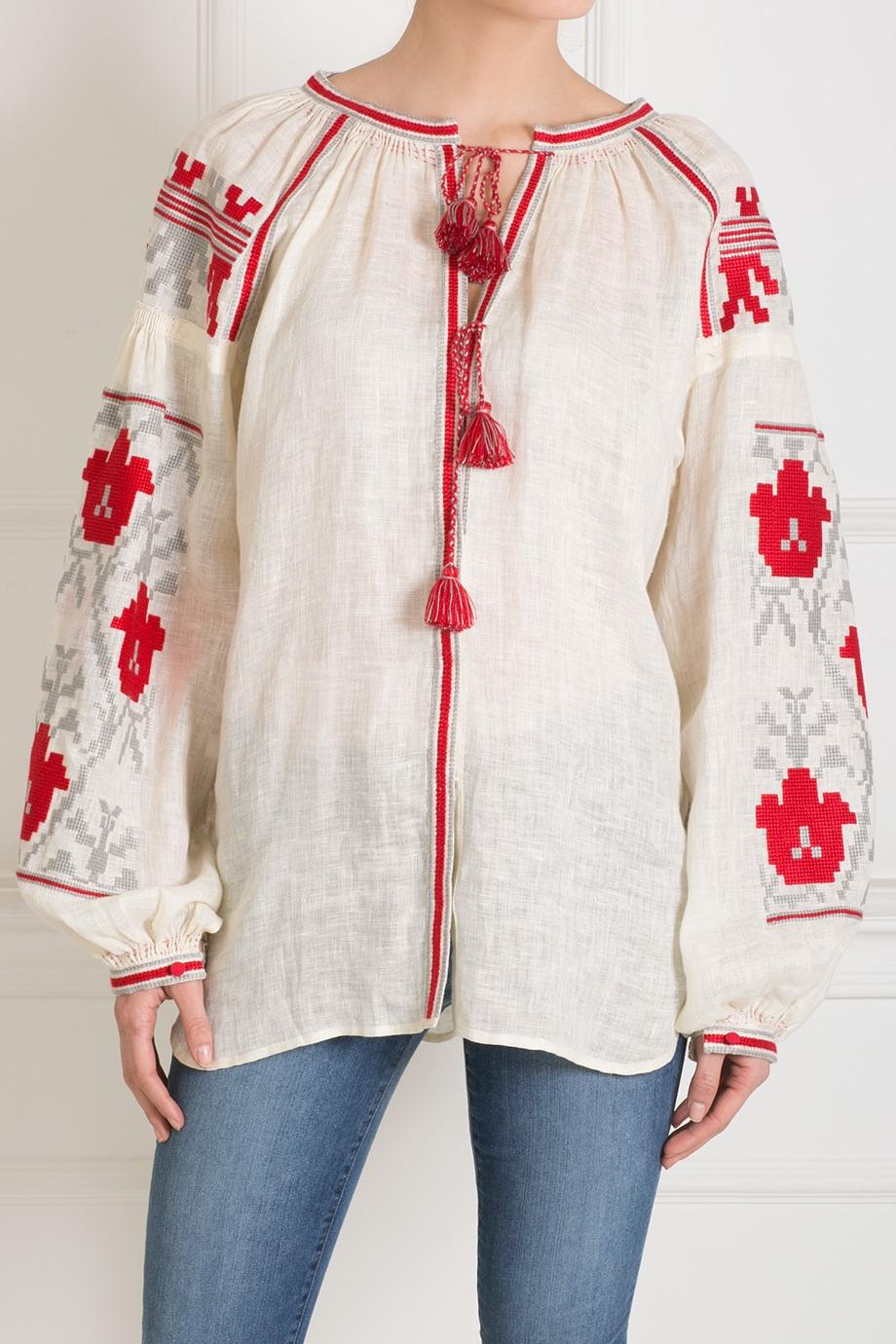 Льняная Блузка С Доставкой